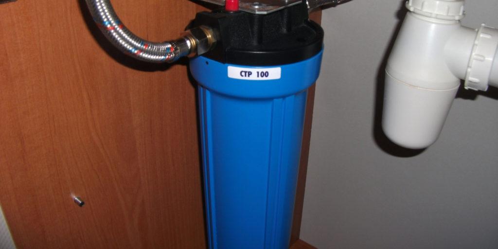 Система очистки воды от извести